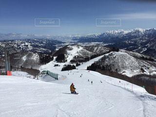 ガーラ湯沢スキー場の写真・画像素材[2988671]