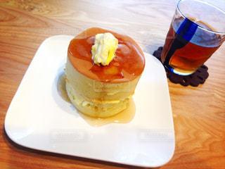 パンケーキやさんのパンケーキ風の写真・画像素材[1988786]