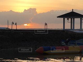 夕陽,セブ島