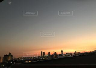 夕陽,神戸,我が家のベランダ