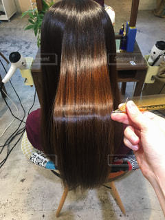 ツヤ髪美容の写真・画像素材[2287417]