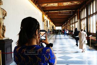 ウフィツィの廊下の写真・画像素材[2288337]