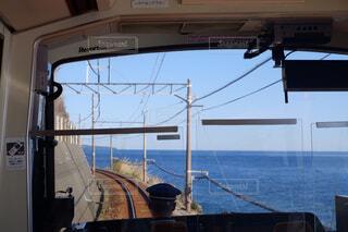 海,空,リラックス,車窓,鉄道,おうち,ライフスタイル,オーシャンビュー
