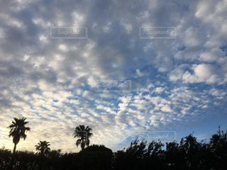 空に雲の群しをするの写真・画像素材[2425425]