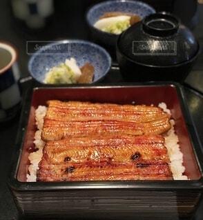 食べ物のトレイの写真・画像素材[3854414]