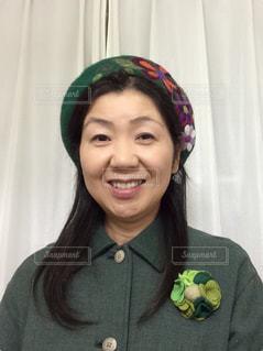 世界で一番みどりが似合う女性!の写真・画像素材[2099263]