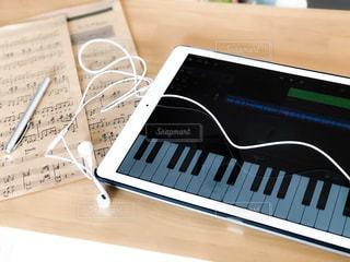 iPad鍵盤の写真・画像素材[3251112]