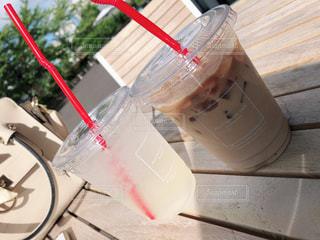 飲み物,カフェ,テーブル,cafe,カフェオレ,野外,ドリンク,ミルクティー,大好きなミルクティー