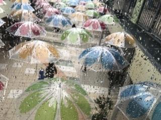 雨,傘,カラフル,梅雨,しずく,おしゃれ