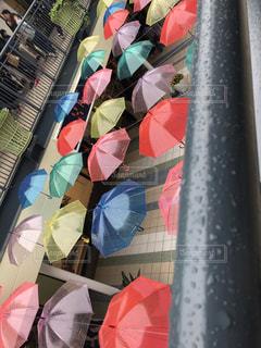 雨,傘,カラフル,水,梅雨