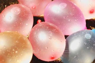 雨,カラフル,水,窓,水滴,風船,水玉,雫,しずく