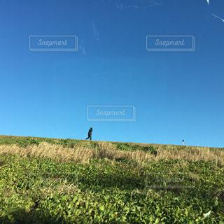 車窓からの景色の写真・画像素材[1975773]