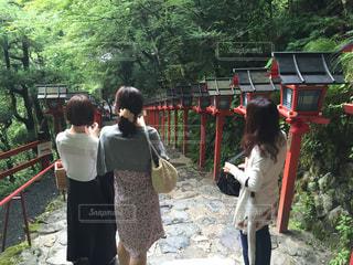 夏の京都の旅の写真・画像素材[2167010]