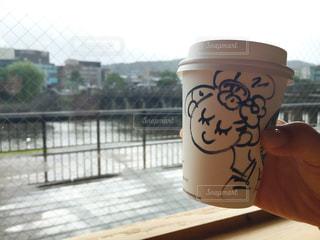 鴨川べりのカフェの写真・画像素材[2397461]