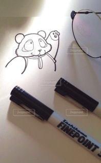 パンダのイラストの写真・画像素材[3299146]