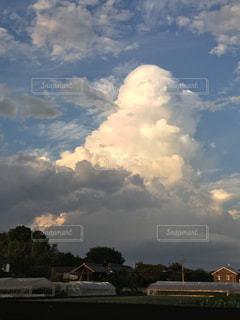 雷雲の写真・画像素材[1981634]