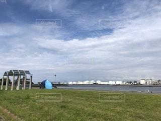 海辺の公園の写真・画像素材[2272391]