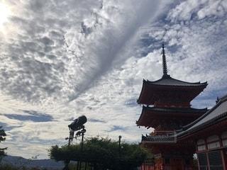 空に雲の群しをするの写真・画像素材[2468214]