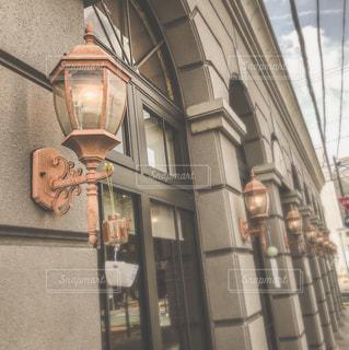 建物,レトロ,壁,パン屋,ベージュ,銀行,ミルクティー色