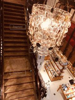 本屋の階段の写真・画像素材[2157930]