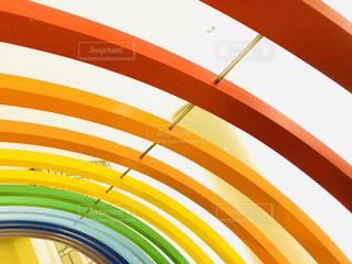 虹のアーチの写真・画像素材[2173579]