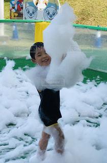 泡プール!の写真・画像素材[2279315]