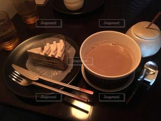 スイーツ,カフェ,ケーキ,茶色,cafe,ミルクティー