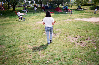 自然,公園,後ろ姿,人物,背中,人
