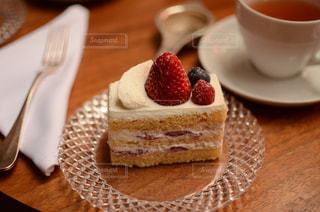 いちごのショートケーキの写真・画像素材[2008770]