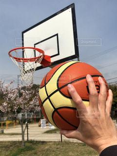 バスケットボールの写真・画像素材[2015406]