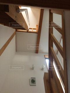 インテリア,階段,茶色,家,壁,ロフト,はしご,ベージュ