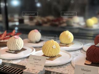毛糸のケーキの写真・画像素材[2033822]