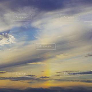 消えていく虹の写真・画像素材[2513831]