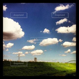 のどかな街の風景の写真・画像素材[2993193]