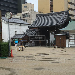 雨の大阪天満宮の写真・画像素材[2214706]