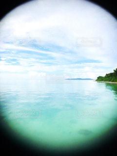 水の景色の写真・画像素材[2077791]