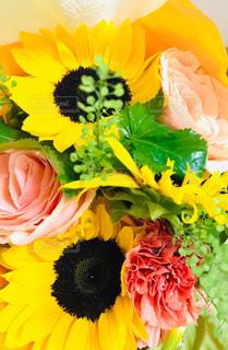 真夏の花束の写真・画像素材[2363134]