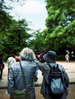 いつも一緒の写真・画像素材[2458998]