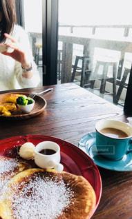 カフェのモーニングの写真・画像素材[2510361]