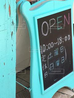 看板,かわいい,黒板,キュート,営業時間,ペパーミントグリーン,オープン看板