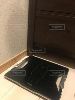 体重計の定位置の写真・画像素材[2324125]