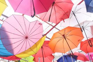 雨,傘,ピンク,カラフル,オレンジ,ハート,ハウステンボス