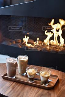 冬,ニューヨーク,かっこいい,茶色,アメリカ,暖炉,NY,スタバ,ミルクティー,インスタ映え