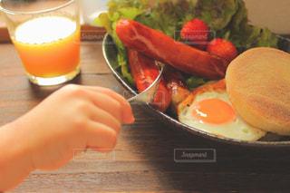 楽しい朝食の写真・画像素材[3214762]