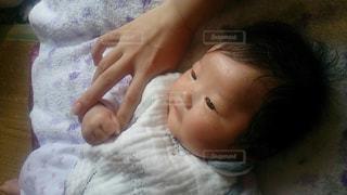 赤ちゃんの写真・画像素材[2020332]