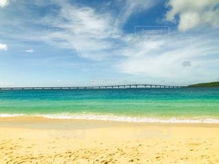 海に隣接する砂浜の写真・画像素材[2344111]