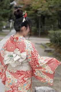 女性,京都,後ろ姿,女の子,人物,背中,着物,人,後姿,ポートレート,思い出