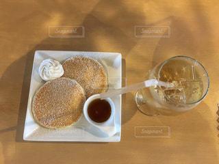 スイーツ,カフェ,パンケーキ,茶色,クリーム,デザート,ティータイム,ベージュ,ミルクティー色