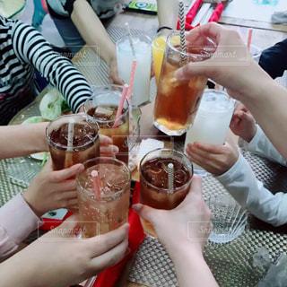 ジュース,グラス,乾杯,飲み会,ドリンク,女子会