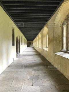 クライストチャーチの廊下の写真・画像素材[2068023]